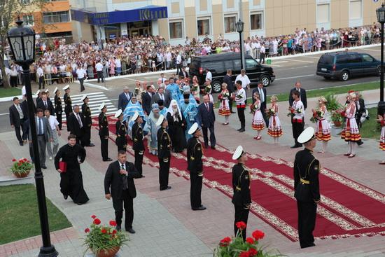 Святейший Патриарх Московский и Всея Руси Кирилл в Мордовии.