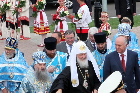 21 июля 2011 года. Патриарх Кирилл в Мордовии