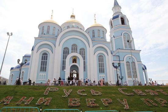 Казанский храм в Саранске