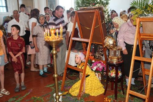Покров Пресвятой Богородицы над Холстовкой. 89-ый крестный ход из Жадовской Богородицкой пустыни.