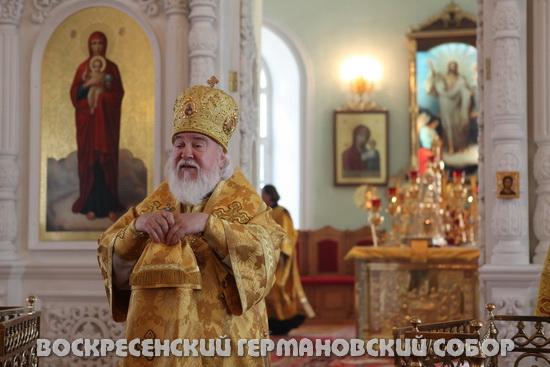 Архиепископ Симбирский и Мелекесский Прокл 19.06.2011.