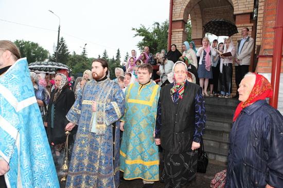 Крестный ход в Димитровграде Храм Преображения Господня