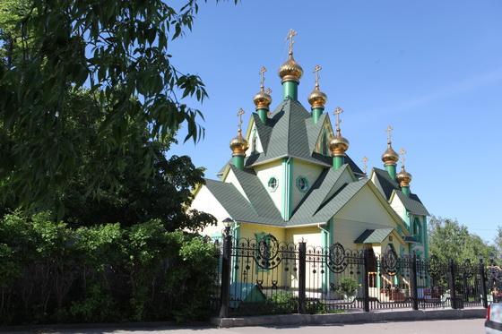 Храм Всех Святых. 3 июня 2011 года