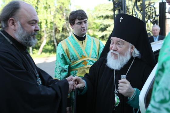 Архиепископ Симбирский и Мелекесский Прокл 3 июня 2011 года