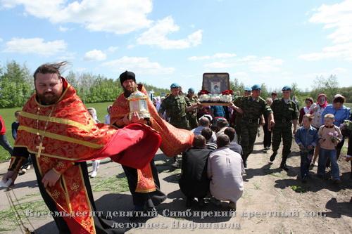 Крестный ход в селе Покровское 31.05.2011.