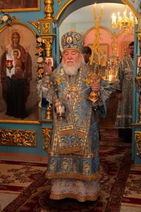 Престольный праздник в храме Покрова Пресвятой Богородицы в р.п.Чердаклы.