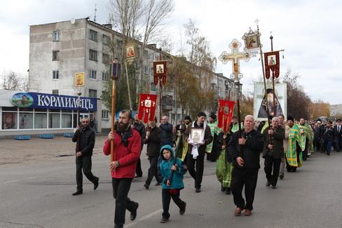 Торжества в Димитровграде в честь преподобного святаго Гавриила Мелекесского