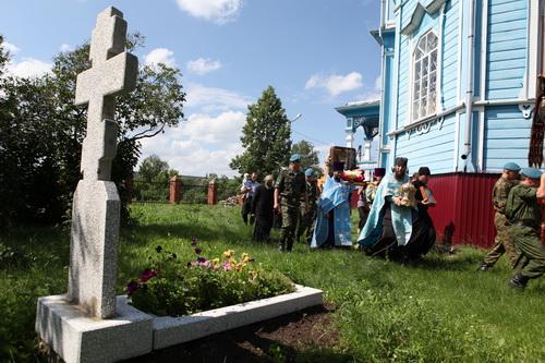 Могила протоиерея Ираклия Жемчужникова