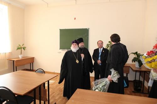 Архиепископ Симбирский и Мелекесский Прокл в Инзенском филиале УЛГУ