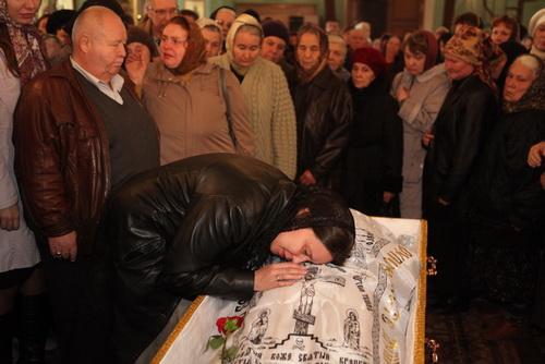11.10.2011. Прощание с протоиереем Гергием Каппо